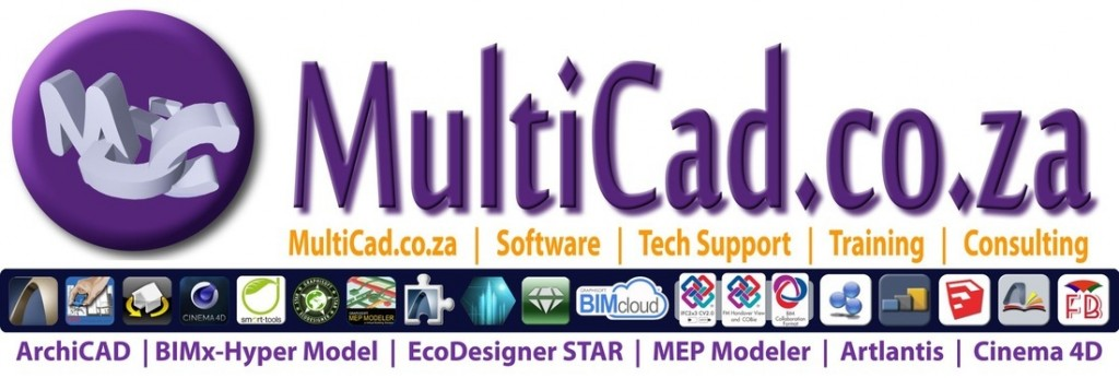 MultiCad Design Solutions for ArchiCAD Training | MultiBIM.co.za