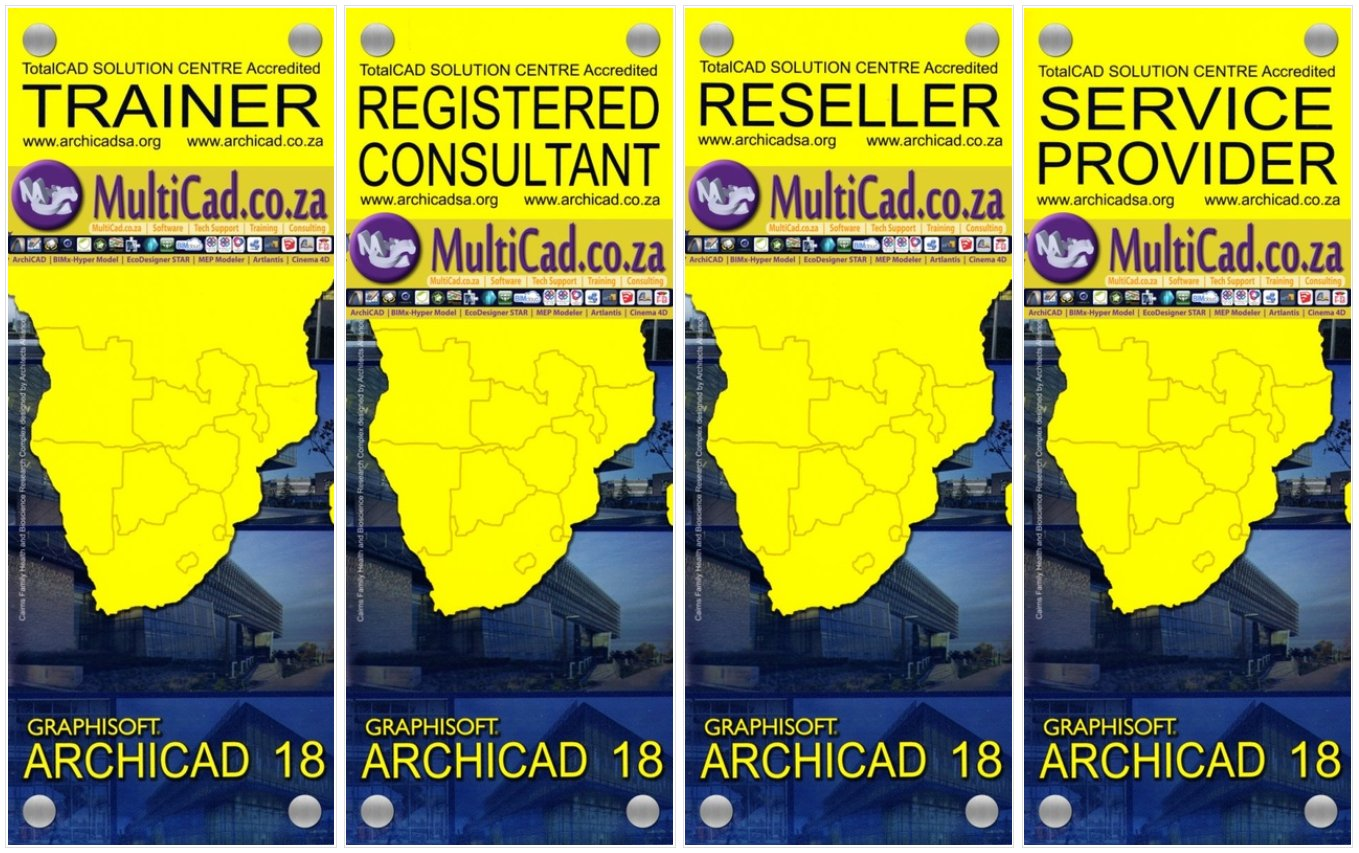 MultiCad ArchiCAD 18 | Accredited Trainer – RegCon – Reseller