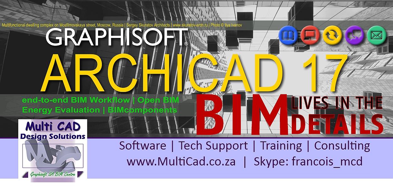 ArchiCad 17 - MultiCad Main Facebook Banner 2013e 1250x650